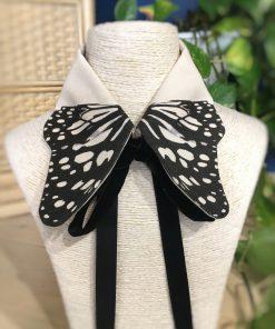 col papillon amovible