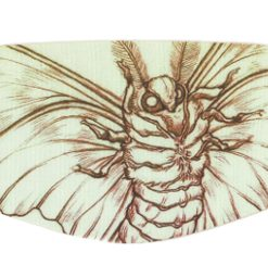 masque réutilisable papillon attack